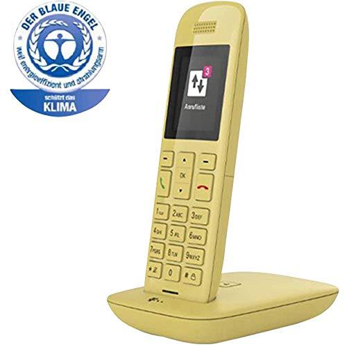 Telekom Speedphone 11 (mit DECT Basis - wahlweise nutzbar am IP Anschluss oder am analogen a/b Port) gelb