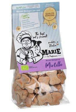 Marie Biscotti Biologici per Cani 210 gr Mirtillo