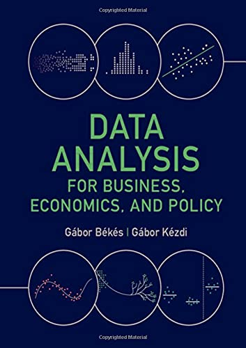 Data Analysis for Business, Economics, and Policy