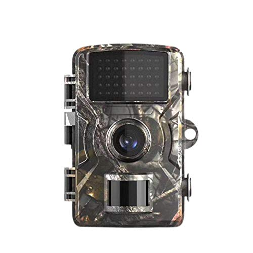 Videocamera da caccia 12 MP FHD 1080P aggiornata con visione notturna a infrarossi, schermo LCD da 2 pollici, piccola trappola per caccia, grandangolo 120°, impermeabile, sensore di movimento