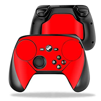 MightySkins Skin Compatible with Valve Steam Controller case wrap Cover Sticker Skins Solid Red