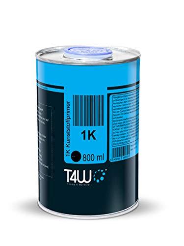 T4W Plastikgrund Kunststoff Grundierung Primer Spritzfertig - 0,8 Liter (59072)