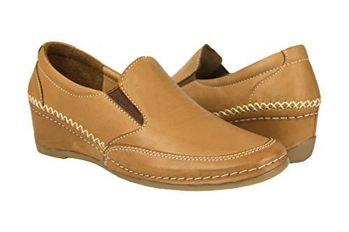 Zerimar Zapatos Mujer   Zapatos Plataformas Mujer Piel   Calzado Cuña Mujer Cuero   Calzado Mujer Casual   Calzado de Vestir Mujer