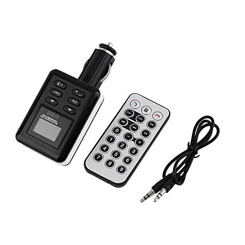 Car FM Transmitter with Car Charger+Remote Controller +Audio Cable Rodalind