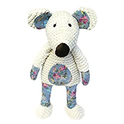 Comfort Dog toy which is perfect for cuddle or play time Made with quality plush materials Includes a squeaker inside