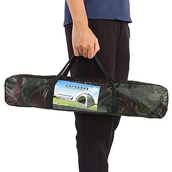 DAUERHAFT Tenda Mimetica in Poliestere Oxford 210D Tenda per 2 Persone Facile da installare, per attività all'aperto, per Spiaggia, Escursionismo
