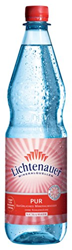 Lichtenauer Mineralwasser Still 12x1,0 l - inklusive Pfand - Lieferung ohne Kiste