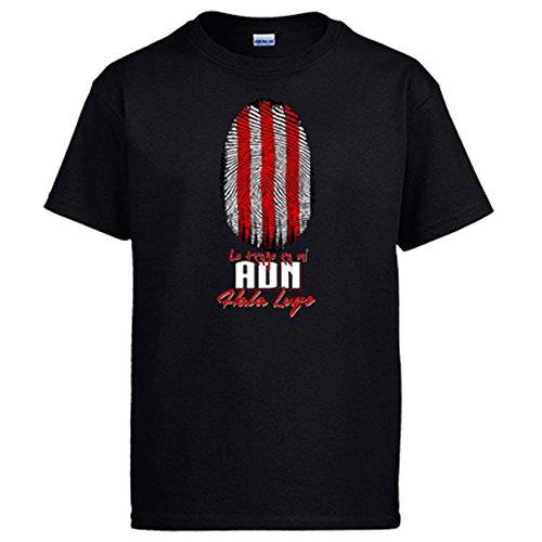 Diver Camisetas Camiseta lo Tengo en mi ADN Lugo fútbol - Negro, XXL