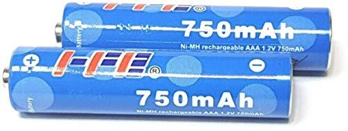 2X Gigaset Wiederaufladbare Akku Original HP oder Suppo 750 mAh für Gigaset Mobilteile