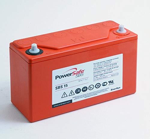 Enersys - Batería Plomo Puro Powersafe SBS15 12V 14Ah M6-V