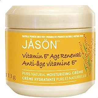 Jason 25,000 I.U. Vitamin E Age Renewal Moisturizing Creme, 4-Ounce Jars (Pack of 2)