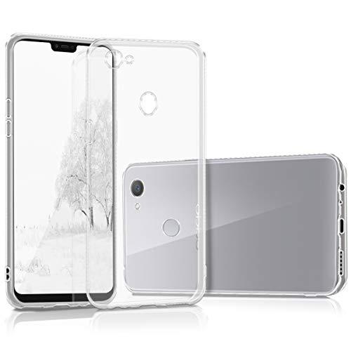 kwmobile Hülle kompatibel mit Oppo F7 - Hülle Handy - Handyhülle in Transparent