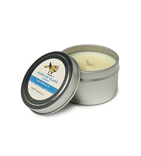 Very Vanilla Soy Candle - Travel Tin