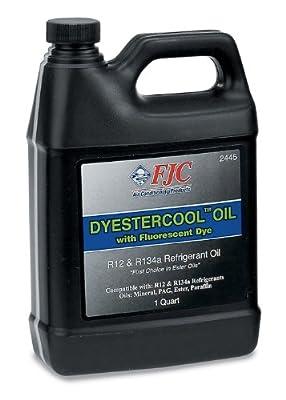 FJC Inc. 2445 DyEstercool A/C Refrigerant Oil and Dye - 1 Quart