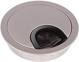 Kabeldoorlaat Metaal Ø 60 mm Staal imitatie dof met borstelafdichting