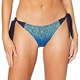 LOVABLE Light Blue Net Parte Inferiore del Bikini, Azzurro, S Donna