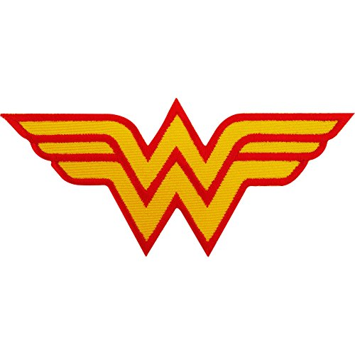 Wonder Woman parche bordado hierro Sew en T Shirt bolsa disfraz Badge