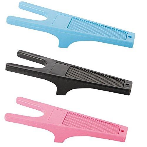 netproshop Stiefelknecht Ausziehhilfe für Schuhe, Stiefel und Reitstiefel Farbauswahl, Farbe:Schwarz