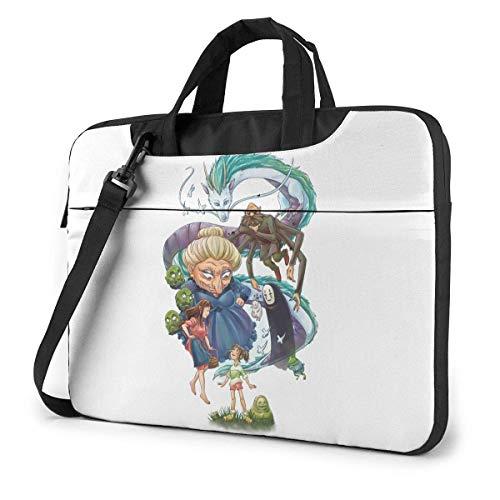 XCNGG Spirited Away Anime Laptop Hombro Messenger Bag Tablet Computadora Almacenamiento Mochila...