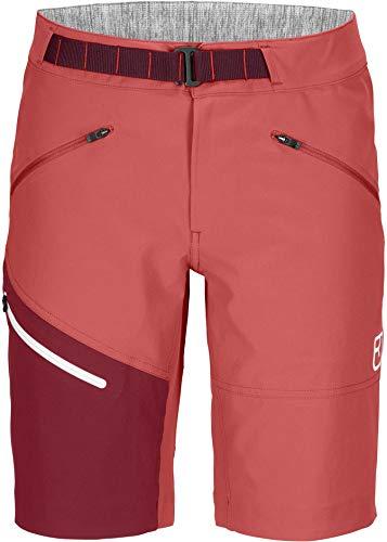Ortovox Brenta Shorts W - Damen Shorts L Rouge-Rot