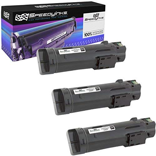 Speedy Inks Compatible Toner Cartridge Replacements for Dell 593-BBOW N7DWF (Black, 3-Pack)