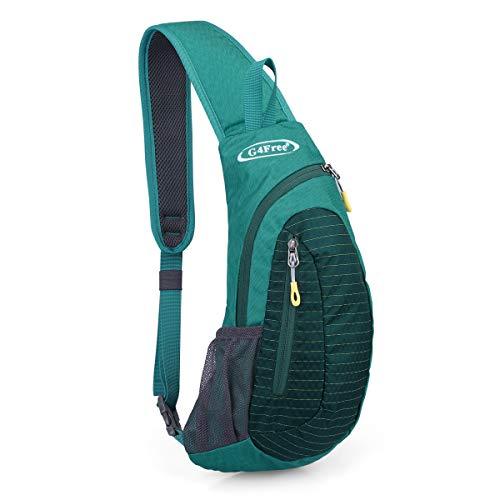 G4Free Sling Bags Men Shoulder Backpack Small Cross Body Chest Sling Backpack