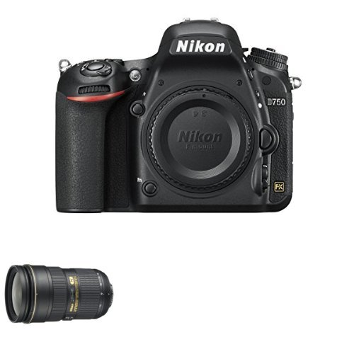 Review Of Nikon D750 FX-Format DSLR Camera with 24-70mm Lens