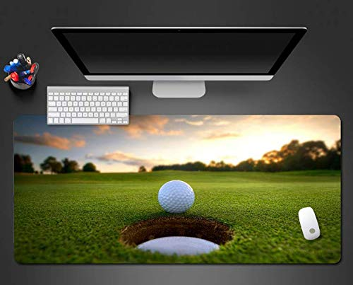 Mouse Pad Golf Ball Mouse Pad Computer Toetsenbord Muismat Game Speler Anti-lip Game Pad Computer Accessoires Matten 900 * 400 * 3mm