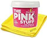 The Pink Stuff Cleaning Paste - The Miracle Paste All Purpose Cleaner 500g - Bonus Bezrat Cleaning Cloth Included