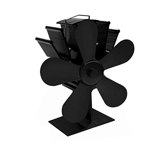 QQWWE Kamin-Ventilator Ventilator Thermodynamische Mehrfarbige Kamin-Ventilator Kamin Ventilator Geeignet für Holzofen/Heimkamin