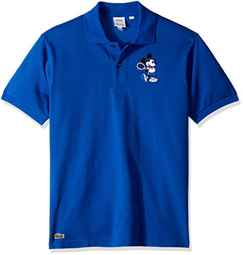 Lacoste Men's Short Sleeve Orginal FIT Mickey Polo, Steamer/Steamer, X-Large