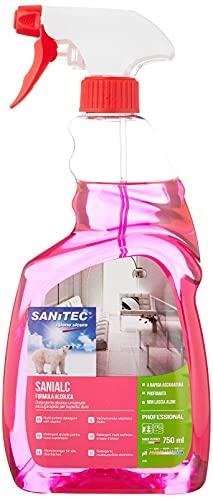 Sanitec Sanialc Detergente Multisuperficie Spray 750 ml