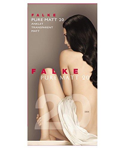 FALKE Damen Pure Matt 20 DEN W SO Socken, Beige (Sun 4299), 35-38 (UK 2.5-5 Ι US 5-7.5)