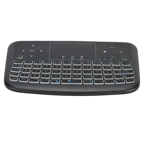 Teclado Air Mouse Touchpad, Teclado multifunción con Control Remoto Teclado inalámbrico Compact Smart Mini Keyboard para Laptop para Smart TV
