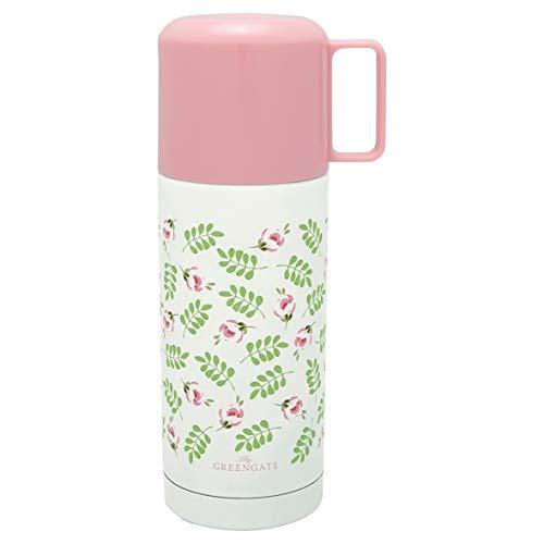 GreenGate - Thermosflasche - Isolierflasche - Cherry/Kirschen - Edelstahl - 300 ml