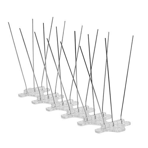 Pinchos Antipalomas Repelente de aves WARKHOME - 10 unidades