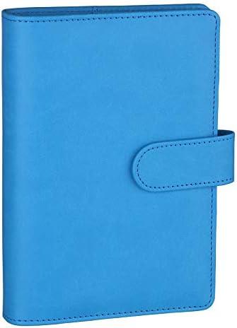 Antner A6 PU Leather Notebook Binder Refillable 6 Ring Binder for A6 Filler Paper Loose Leaf product image