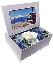 Panntryソープフラワー 写真立て 枯れない花 プレゼント ギフトボックス 贈り物 誕生日 母の日 父の日 先生の日 バレンタインデー 記念日 敬老の日 大切な人へ感謝 昇進 転居など 最適なプレゼント