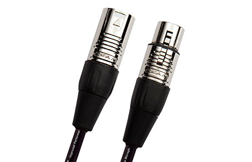 Monster Classic Microphone Cable (10 feet / 3 Meters) - Gold Contact XLRs
