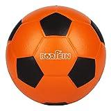 BORPEIN Bola de espuma de esponja de 6 pulgadas para niños, voleibol, baloncesto, fútbol, piel especial, suave y hinchable (fútbol 1)