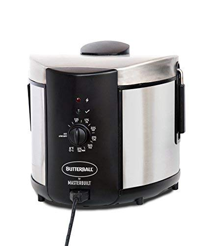 Butterball MB23015018 Electric Fryer, 5 L, Stainless (Renewed)