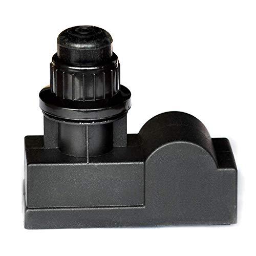 WELL GRILL 2 Ausgängen Push Button Piezo Igniter Grillanzünder Piezo Zünder für Amana, Uniflame, Surefire, Charmglow, Charbroil und Grillmodelle (AAA-Batterie)