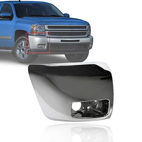 08 silverado chrome bumper cap - 2