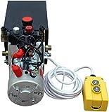 Bomba hidráulica de doble efecto de alta calidad Remolque de descarga de 12 V- 6...