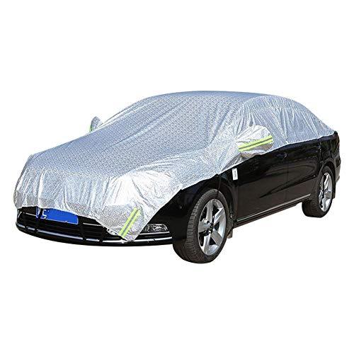 Bostar フロントガラスカバー 車ハーフカバー 日除け 凍結防止 四季適用 簡単装着 黄砂・PM2.5対策 ハーフボディーカバー SUV対応