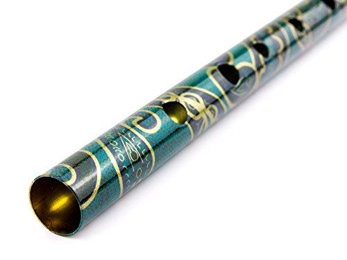 GEWA Boho - Flauta silbato (afinación D), color verde