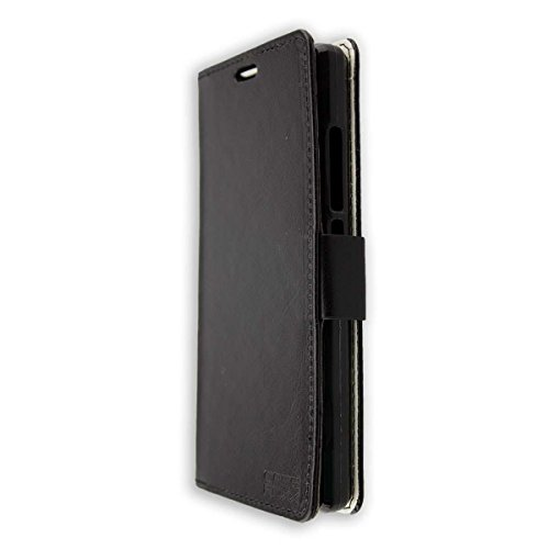 caseroxx Bookstyle-Case for Doogee X5 Max Pro in Black