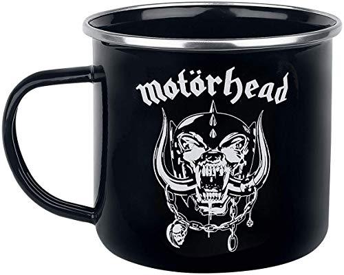 for-collectors-only Motörhead Tasse Warpig Logo Becher Emaille Kaffeetasse Trinkbecher Mug Kaffeebecher emailliert