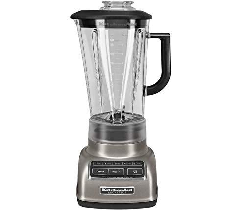 KitchenAid 5-Speed Blender RKSB1570CS, 56-Ounce, Silver (Renewed)