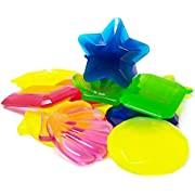 Boley Dive Gems - 12 Pack Ocean Themed Sinking Pool Toys and Swimming Dive Toys for Kids - Colorful Swim Toys and Water Games